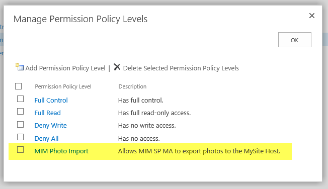 how to add no permissions using symbolic